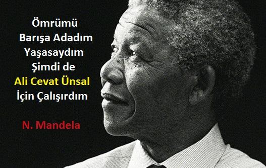 Mandela ne derse o.